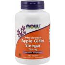 Apple Cider Vinegar, 750mg Extra Strength - 180 tabs