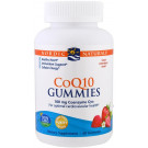 CoQ10 Gummies, 100mg Strawberry - 60 gummies