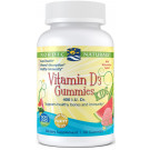 Vitamin D3 Gummies Kids, 400 IU Watermelon - 60 gummies