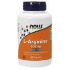L-Arginine, 500mg - 100 caps