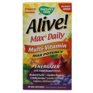 Alive! Max6 Daily Multi-Vitamin, No Added Iron - 90 vcaps