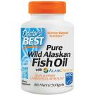Pure Wild Alaskan Fish Oil with AlaskOmega - 180 softgels